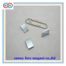 permanent small arc magnetic sheet for motor