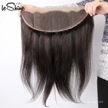 A cutícula natural brasileira do cabelo humano de Remy 100% alinhou a onda frontal do corpo do fechamento de 360 rendas