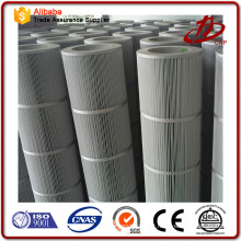 Cartucho de filtro de carbono plissado em pó de zinco