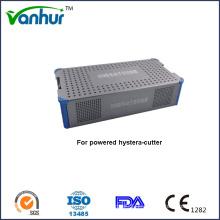 Basic Medizinische Geräte Sterilisationskoffer für angetriebene Hystera-Cutter