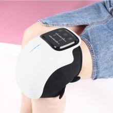 Masaje de rodilla con terapia de calor