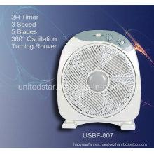 Ventilador de caja 12 pulgadas con el viento Natural (USBF-807)