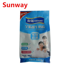 Bolsas de leche en polvo de plástico