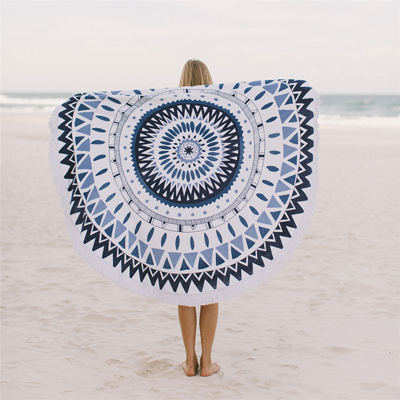 Silk Screen Beach Towel
