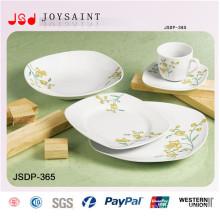 Ensemble de dîner carré à la vente chaude (JSD116-S026)