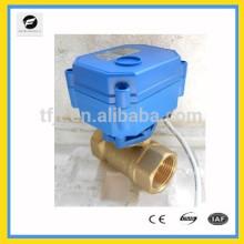 Моторизованный 5 В постоянного тока ДНЯО Ду20 запорный клапан для защиты окружающей среды и системы слива воды
