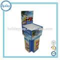 Cardboard Dumpbin Display Supermarket Fruits Promotional Dump Bins