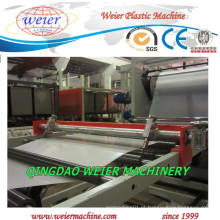 1000 mm de largura da linha de máquina de produção de folha de plástico PP