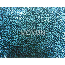 """POLY MESH WITH 3MM SEQUIN EMBD +FLOCKING 50/52"""""""
