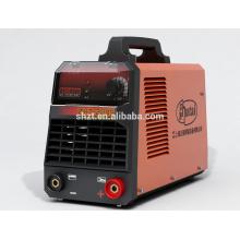 China HUTAI portátil de plástico soldador arco inversor máquina de soldadura mma-200
