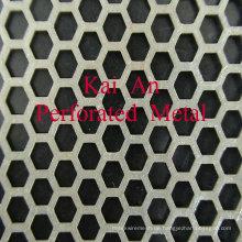 302,304,316 Edelstahl Perforiertes Mesh / perforiertes Edelstahl-Maschendraht für Maschine, Filter, Schutz, Decke