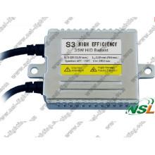 Amplio voltaje 9 ~ 32V S3 S5 HID Kit de balasto HID de xenón de alta eficiencia HID