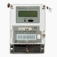 Contador de energía digital monofásico estático con registro máximo de carga