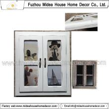 Collage de cadre de photo de mur blanc