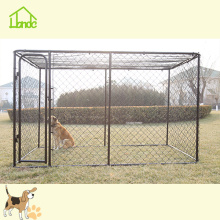 Cheap Chain Link Black Dog Run Kennel
