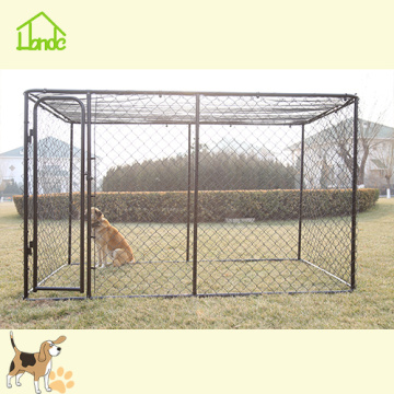 Goedkope Chain Link Black Dog Run Kennel