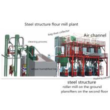 Máquina de trituração de farinha de trigo T / D 20 com técnicas Plantifter