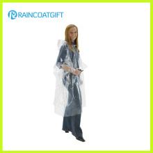 Cheap Clear Women′s Fashion PVC Rainwear (Rvc-093)