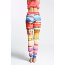 Сухие Fit Custom сублимации печатных йога поножи, компрессионные колготки, оптовые штаны йога