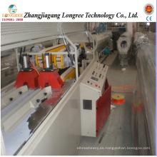 Línea de producción de doble tubería de aguas residuales de PVC