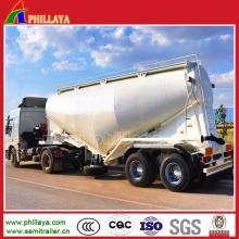 3 Achs Mehl Kalk Pulver Bulk Cement Tanker Auflieger