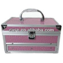 Aluminum+PVC cosmetic case