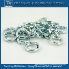 Galvanized Spring Steel Lock Washers