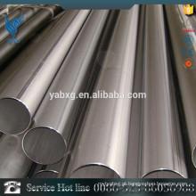 ASTM A581 AISI 316L diâmetro 6 mm polido tubo de aço inoxidável redondo