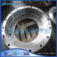 Steel heat pump covers