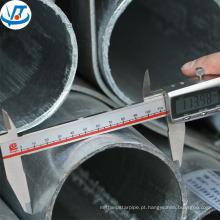 Tubo de aço macio de 200mm / tubo de aço de 2,5 polegadas / tubo de aço galvanizado preço por kg