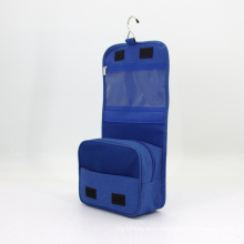 Eco Friendly Polyester Portable Custom Luxury Hanging Travel Toiletry Bag