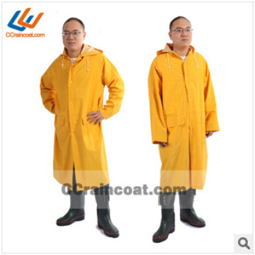 High quality firm waterproof polyester rain suit for men European hot