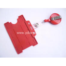 Customized Plastic YoYo Badge Holder