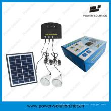 Système solaire léger avec 2 lumières et kit solaire de chargeur de téléphone (PS-K013N)