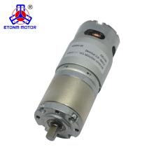 Motor cepillado de 45 mm dc 12v 30w
