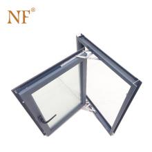 Aluminum Thermal Break Bridge Casement Window with Fly Mesh
