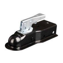 """2"""" 5000lbs Quick-Locking Straight Tongue Trailer Hitch Ball Coupler"""