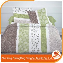Vente en gros large largeur imprimé couette couverture tissu matériel avec un bon prix