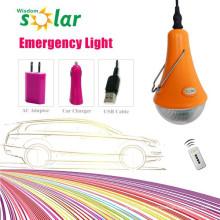 Recarregável levou luz lâmpada de emergência com bateria interna