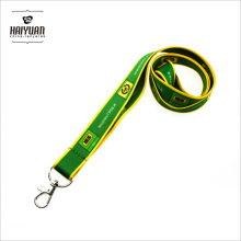 Green Lanyard with Heat Transfer Printing for Schools