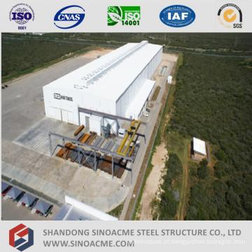 Planta de estrutura de metal pesado de alta ascensão