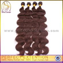 Made In China-unbehandelte Körper-Welle Großhandel Jungfrau indisches Haar