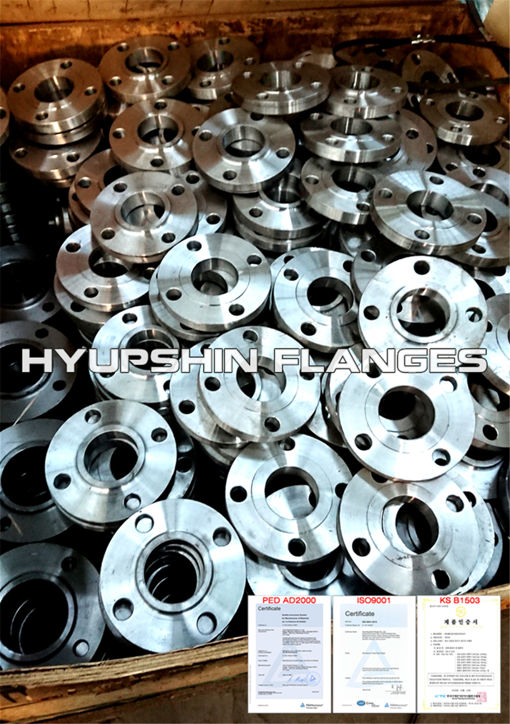 Hyupshin Flanges Ansi Asme B16 5 Slip On Rf
