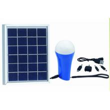 Luz solar LED recargable de 1.5W con linterna