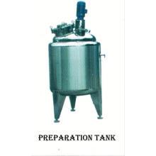El tanque 2017 del acero inoxidable de la comida, SUS304 el tanque de almacenamiento del agua de 100 galones, cristalizador continuo de GMP