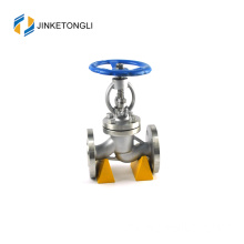 JKTLPJ015 flanged carbon steel actuated valve glob