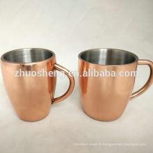 Couleur personnalisé mug mule cuivre Moscou à vendre