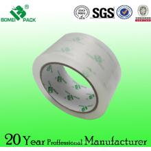 Подгонянная лента упаковки bopp /Ясный acrylic основания воды