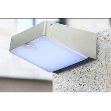 Lámpara de pared LED de movimiento solar de alta luminosidad, luz 3.5W