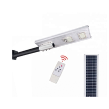 LED solar street light with remote control